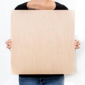 16.5 x 16.5 Custom Solid Wood Print
