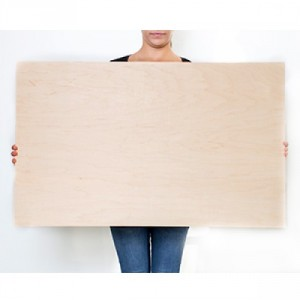 38.5 x 23.5 Custom Planked Wood Print