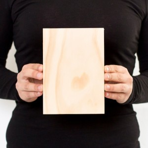 5 x 7 Custom Solid Wood Print