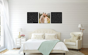 Personalized canvases for your bedroom