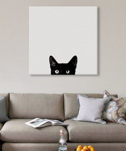 cat cheap canvas prints